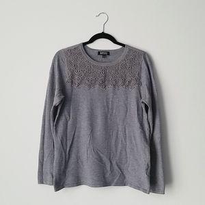 Buffalo Gray Long Sleeve Shirt